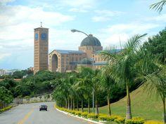 Catedral de Nuestra Señora de Aparecida, Aparecida Brasil Taj Mahal, Building, Travel, Viajes, Buildings, Destinations, Traveling, Trips, Construction