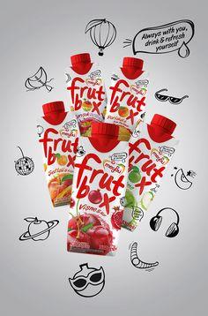 Meysu Frutbox Fruit Drinks on Packaging of the World - Creative Package Design Gallery