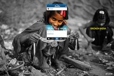 """""""Broken India"""" by Limitless is a thought-provoking photo series that provides the context of a gritty Indian landscape shown in black-and-white outside a Photography Themes, Travel Photography, Social Photography, Journey Pictures, Social Media Art, Vacation Pictures, Photo Instagram, Instagram Travel, India"""