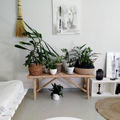U r b a n j u n g l e 🌿 Sain vihdoinkin tuotua postista kotiin tämän aivan ihanan bambujakkaran ja viherkasvit saivat oman paikan siltä 🌿… Plants, Instagram, Home, Design, Healthy, Ad Home, Plant, Homes
