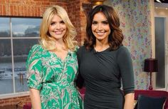Christine Bleakley Dress and Holly Willoughby Dress on This Morning
