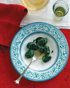 "See the ""Spinach and Ricotta Gnudi with Sage Butter"" in our  gallery"