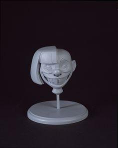 "Maquette, Edna Mode ""Grin,"" The Incredibles, 2004 Character Modeling, 3d Modeling, 3d Character, Character Design, Mode 3d, Zbrush Models, Edna Mode, Sculpting Tutorials, 3d Face"