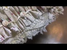 """Vintage Shabby """"Doily and Lace"""" collage! Tutorial #2 - YouTube"""