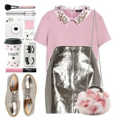 """#1186 Carole"" by blueberrylexie ❤ liked on Polyvore featuring Max&Co., River Island, Miu Miu, Steve Madden, Miss Étoile, NARS Cosmetics, RMK, Chiara Ferragni, Adia Kibur and Morgan Lane"