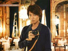 Takuya Kimura (Japanese idle / smap). Nikon COOLPIX Catalog 2013.