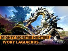 Monster Hunter Ivory Lagiacrus