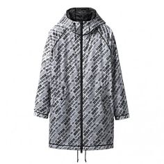 adidas by Alexander Wang AW Parka (Black / White)
