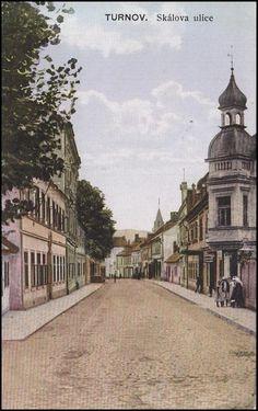 Turnov - Skálova ulice 1915