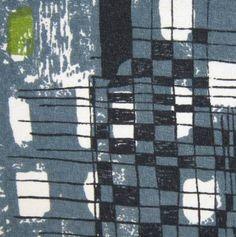 vintage fabric Lucienne Day Quarto retro 50s 60s Heals DIY picture atomic