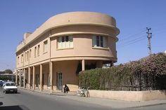 asmara images | Offices and bar - Segeneyti Street Asmara Eritrea.