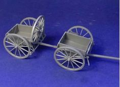 1/35th scale :: WWI Thru 1930's :: German :: WWI Limbered wagons