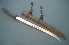 Seaward Katana made for Jody Samson by Christian Fletcher