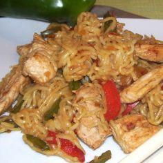 Légèreté & Gourmandises: Porc saute aux nouilles chinoises (6 PP)