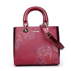 d80a682ae5c0 Vintage Leather Handbag. Vintage LeatherPu LeatherWomens Tote BagsFamous  BrandsPrinted ...