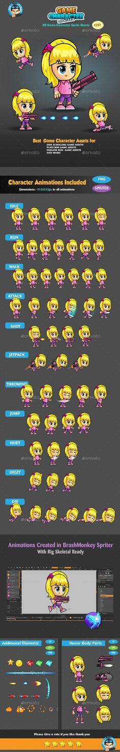 Female Dark Thief Game Character Sprite Runners Chibi And Cartoon - Us map sprite2 file