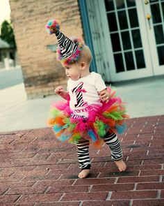 Funky zebra first birthday outift by AlexaNoelBoutique on Etsy, $60.00