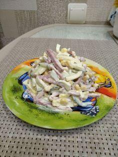 Вкусный салатик. Бюджетно-много-вкусно
