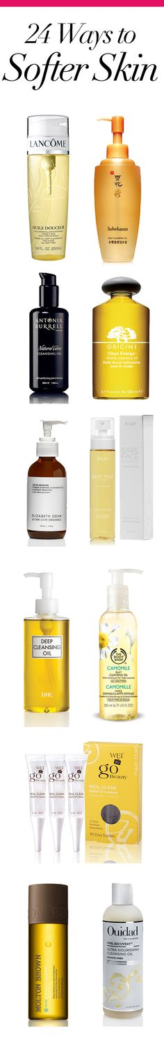 24 Oils for Softer Skin: Slick Washes That Dissolve Dirt and Moisturize.