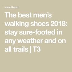 54efe2124ac3 Best men s walking shoes 2019  stay sure-footed in any weather and on all  trails