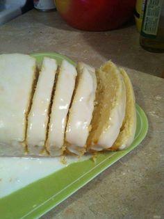 Our Own Version of the Classic Starbucks Lemon Loaf Cake Lemon Desserts, Lemon Recipes, Just Desserts, Sweet Recipes, Delicious Desserts, Cake Recipes, Dessert Recipes, Yummy Food, Yummy Recipes