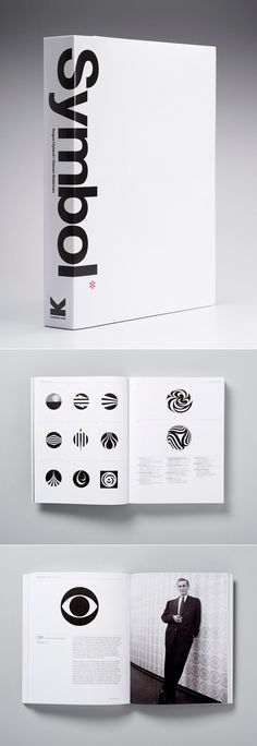 Symbol, by Angus Hyland of Pentagram, organizes 1300 symbols into groups and sub-groups based on their visual characteristics.