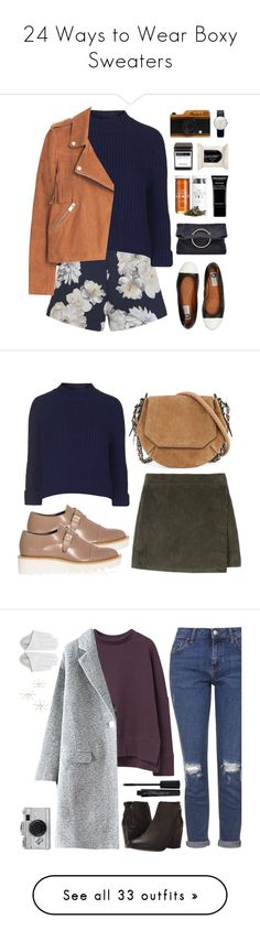 """24 Ways to Wear Boxy Sweaters"" by polyvore-editorial ❤ liked on Polyvore featuring waystowear, boxysweater, Finders Keepers, Topshop, MANGO, Lanvin, H&M, Victoria Beckham, Dot & Bo and Givenchy"