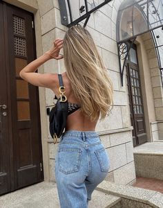 Classy Outfit, Cute Casual Outfits, Girly Outfits, Aesthetic Hair, Aesthetic Clothes, Aesthetic Outfit, Mode Outfits, Fashion Outfits, Tumbrl Girls