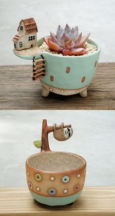 Etsy Shop Feature on So Super Awesome Home Deco Awesome cerami ceramic pottery ideas Etsy Feature planter planters plantpot Shop Super art ideas etsy Ceramics Pottery Mugs, Pottery Teapots, Ceramic Pottery, Pottery Art, Pottery Wheel, Pottery Bowls, Slab Pottery, Pottery Studio, Pottery Houses