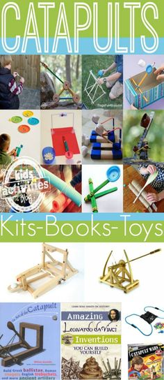 15 easy catapults to make with kids from Kids Activities Blog.