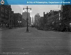Street vintage broad station photographs philadelphia