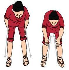 masajear y palmear las piernas bajando por detrás y subiendo por delante, activa la fluencia de qi en los 3 meridianos yin: riñón, hígado y ...