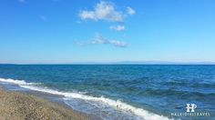 #Kallithea #beach in #Halkidiki. Visit www.halkidikitravel.com for more info. #HalkidikiTravel #travel #Greece