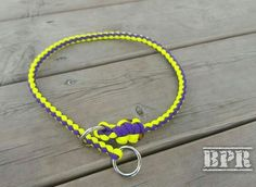 New style of slip Collar! Rope braided slip/training collar.  What do you…