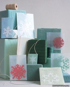 See the Snowflake Templates in our Christmas Templates gallery