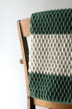 UPDATED: The Alpine Blanket Stitch Pattern! - YarnHookNeedles