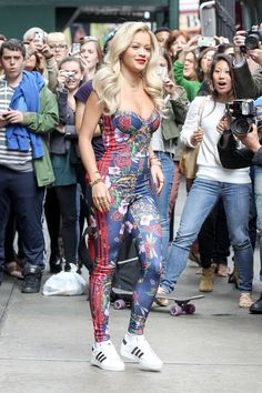 The Fashion Bomb News Breakdown: Rita Ora Partners with Adidas, Lindsay Lohan Goes Topless, and Public School Connects with J Crew