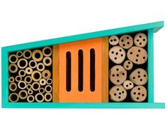 Midcentury-inspired Bug and Bird Motels from the Thoughtful Gardener