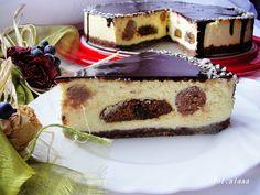 Ala piecze i gotuje: Sernik z piernikami i czekoladowymi kropkami