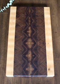 End Grain | Walnut | Cutting Board | Butcher Block | Serving Tray | Diamond Collection
