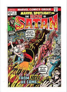 MARVEL SPOTLIGHT #12 Bronze Age find starring Son of Satan! GRADE 8.0 http://r.ebay.com/NOAxwd