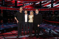 Four Voice finalists
