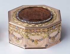 gold mounted jewellery box - Google Search