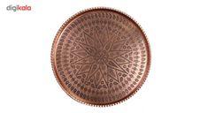 مشخصات، قیمت و خرید سینی مسی طرح گرد کد ZH56 | دیجیکالا Coins, Personalized Items, Rooms