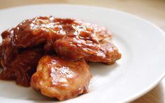 Dieta Dukana :: Udka kurczaka w sosie słodko-kwaśnym :: Przepisy Zasady Efekty Meat, Chicken, Food, Essen, Meals, Yemek, Eten, Cubs