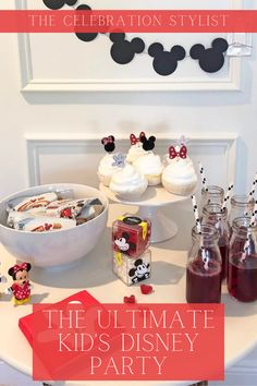 How to Host the Ultimate Kid's Disney Party | Kids Party Ideas | Disney Party | Party Planning | Celebration Stylist | Popular Party Planning Blog