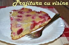 Prajitura cu visine - RETETE DUKAN Dukan Diet, French Toast, Deserts, Sweets, Snacks, Breakfast, Healthy, Food, Sweet Pastries