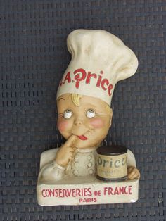 Retro Ads, Vintage Ads, Retail Signs, Counter Display, Paris, Wall Plaques, Comic Character, Weird, Old Things
