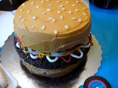 Rhapsody of Cacophony: Sock Hop Party Part 1 Hamburger Cake