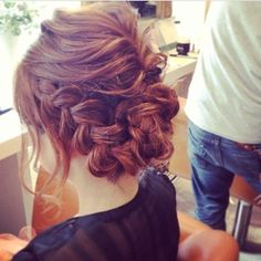 Great Ideas For Elegant Wedding Hairstyles Up Hairstyles, Pretty Hairstyles, Braided Hairstyles, Bridal Hair And Makeup, Hair Makeup, Unique Wedding Hairstyles, Hair Arrange, Elegant Wedding Hair, Hair Setting